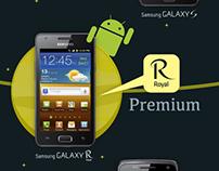 Samsung Galaxy Infographic