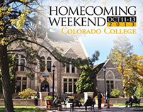 Colorado College Homecoming 2013 Save the Date