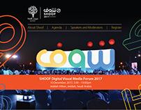 Digital Visual Media Forum Website Design
