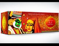 Kerala Soaps Packaging Design