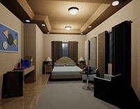 Room Interior Rendering