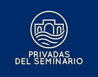 Privadas del Seminario Logo concept