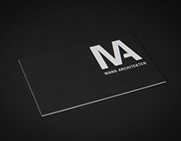 Architekt Mang / Corporate Design