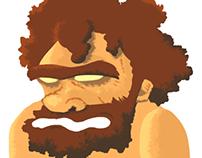 A caveman
