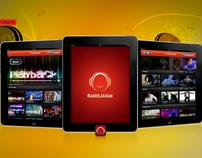 iPad App // Radio Javan