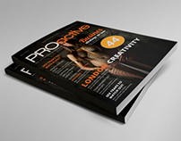 Professional Magazine Cover Template