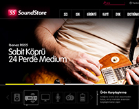 SoundStore E-Commerce Website
