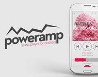 Poweramp Redesign Concept