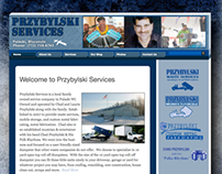 New Website - Przybylski Services - Pulaski, Wisconsin