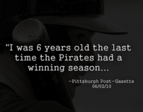 FSN Pittsburgh, Pittsburgh Pirates Quote Campaign