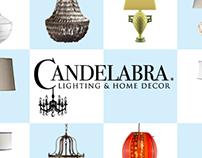 Candelabra Postcard