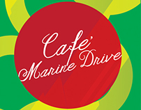Cafe' Marine Drive.(Food Photography and menu concept)