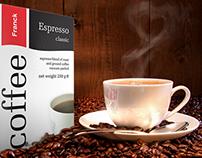 Franck Coffee design & packaging