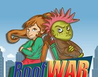 Roofwar App -Welcome Screen