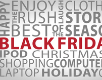 Black Friday Text Animation