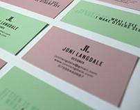 Joni Langdale: Personal Identity