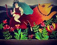 Mural for BurnYard/Budapest
