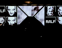 Videomapping for Paranoic DanceFloor [Dj Ralf]