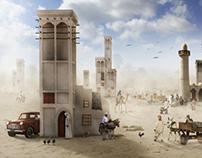 Old Market in the Arabian Gulf