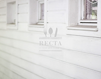 RECTA food&living. Identity and photography.