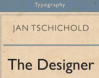 Jan Tschichold design series