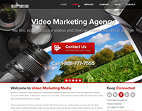 Video Marketing Agency Design