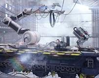 Mechanical platform lift