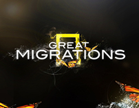 GREAT MIGRATIONS Advertising Campaign