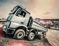 Mercedes-Benz at ADAC Truck Grand-Prix 2013