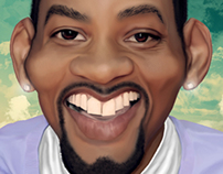 Will Smith Caricatura