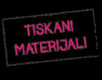 tiskani materijali