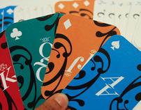 La Boca   Typographic Playing Cards