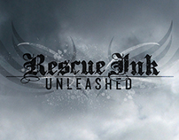 RESCUE INK UNLEASHED Press Campaign Key Art