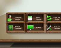 Skeuomorphic App Design