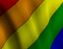 Gay Pride Rainbow Flag - 2 Styles