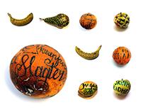 Fruity tattoos