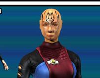 Star Trek Officer (Game Artisans 3D Mini Challenge #32