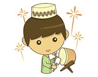 Ramadan Sticker Design