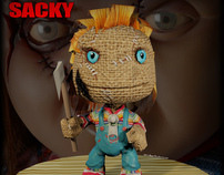 Sackboy (Little Big Planet) - GA 3D Mini Challenge #33