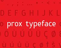 Prox typeface