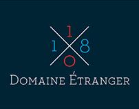 10/18 DOMAINE ÉTRANGER