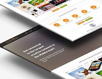TasmeeMe - Web Design
