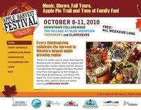 Blue Mountain Apple Harvest Festival