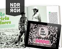 Diseño Editorial - Revista + aplicación para ipad
