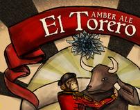 El Torero Beer Label