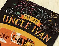 """I've an Uncle Ivan"" Children's Book by Ben Sanders"