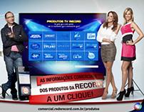 Anúncios - Programas Rede Record