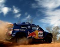 Carlos Sainz & Marc Coma. Red Bull Dakar 2011