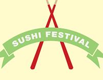 Sushi Festival Poster