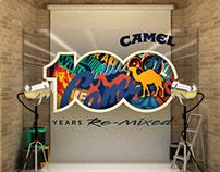 Camel 100 años - activación BTL